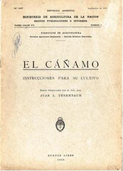 Argentina. Análisis histórico y político de la producción de cáñamo 1