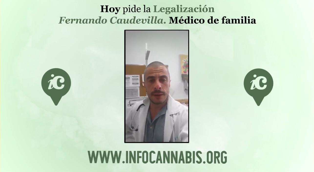 Vídeo. Hoy pide la legalización... Fernando Caudevilla 1