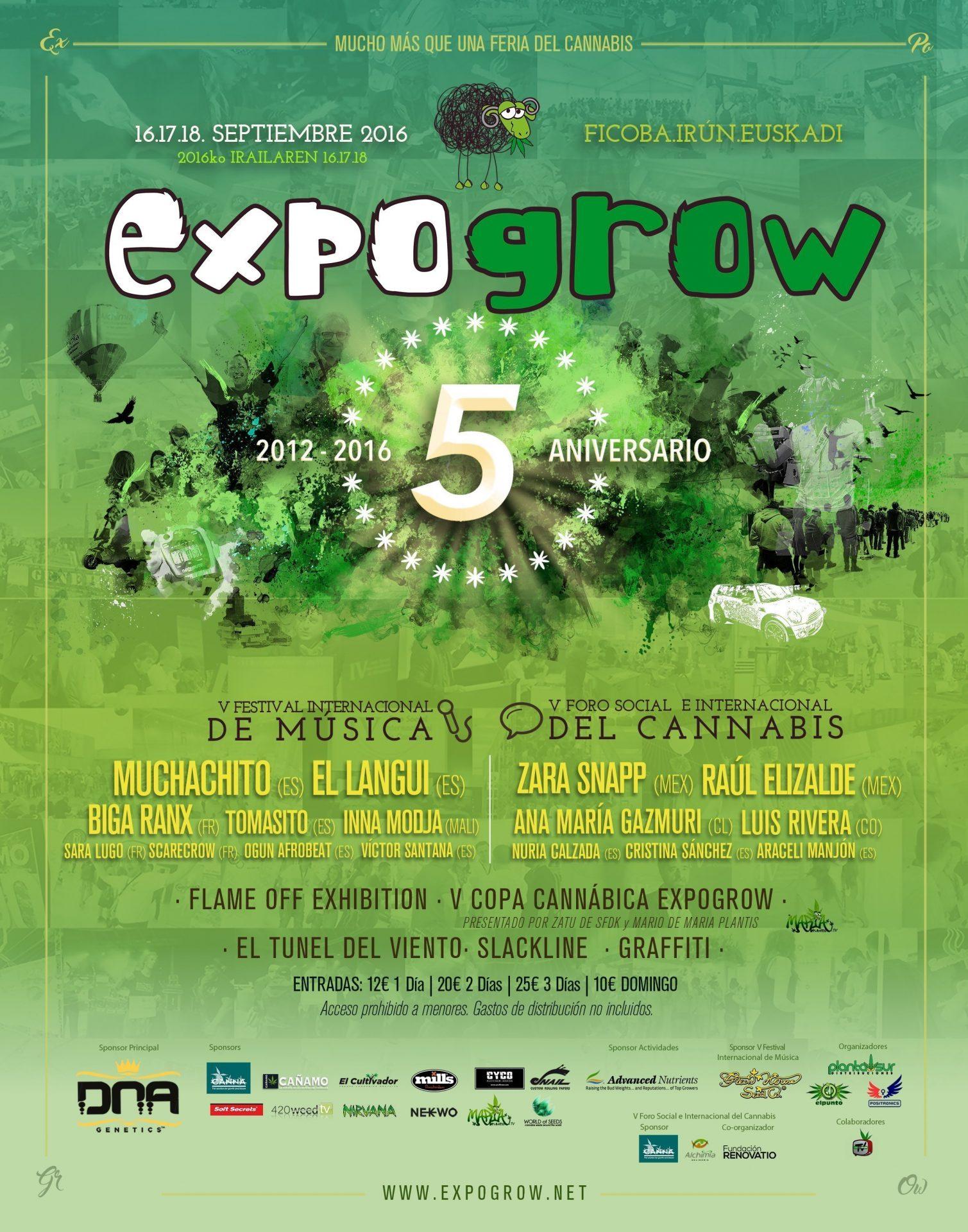Cartel Expogrow 2016