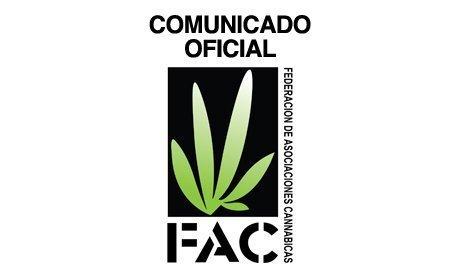 Comunicado de la Federación de Asociaciones Cannábicas (FAC) en relación a la ponencia sobre regulación de cannabis en las Islas Baleares 18