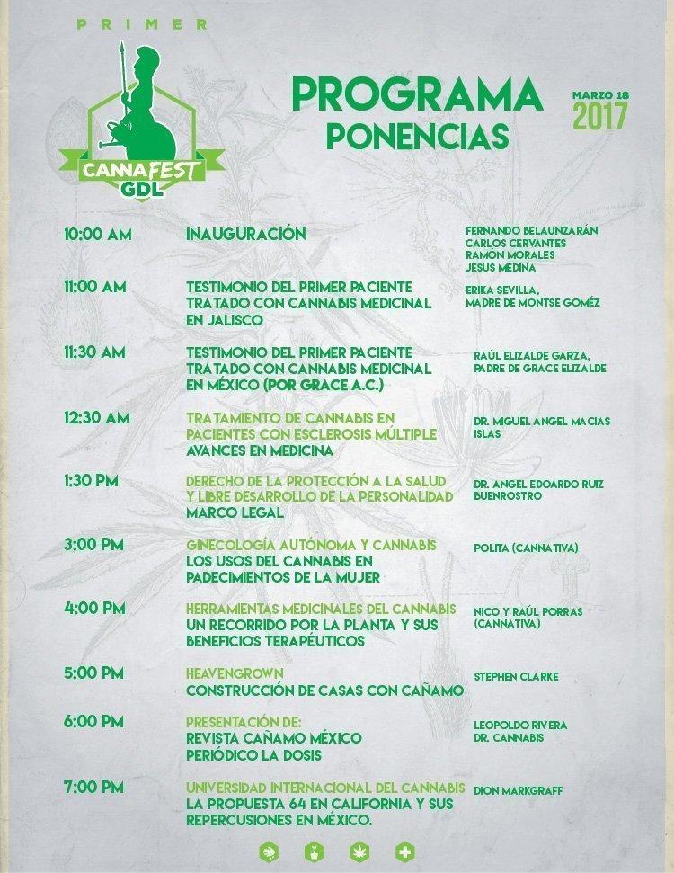 Primer CannaFest 4:20 en Guadalajara, México 2