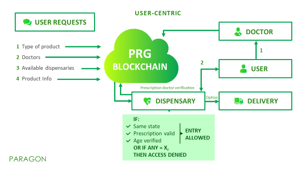 estructura Blockchain Paragon