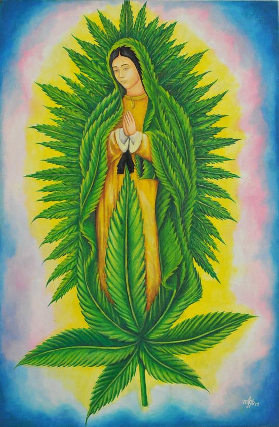 La Marihuana y la virgen Maria 12
