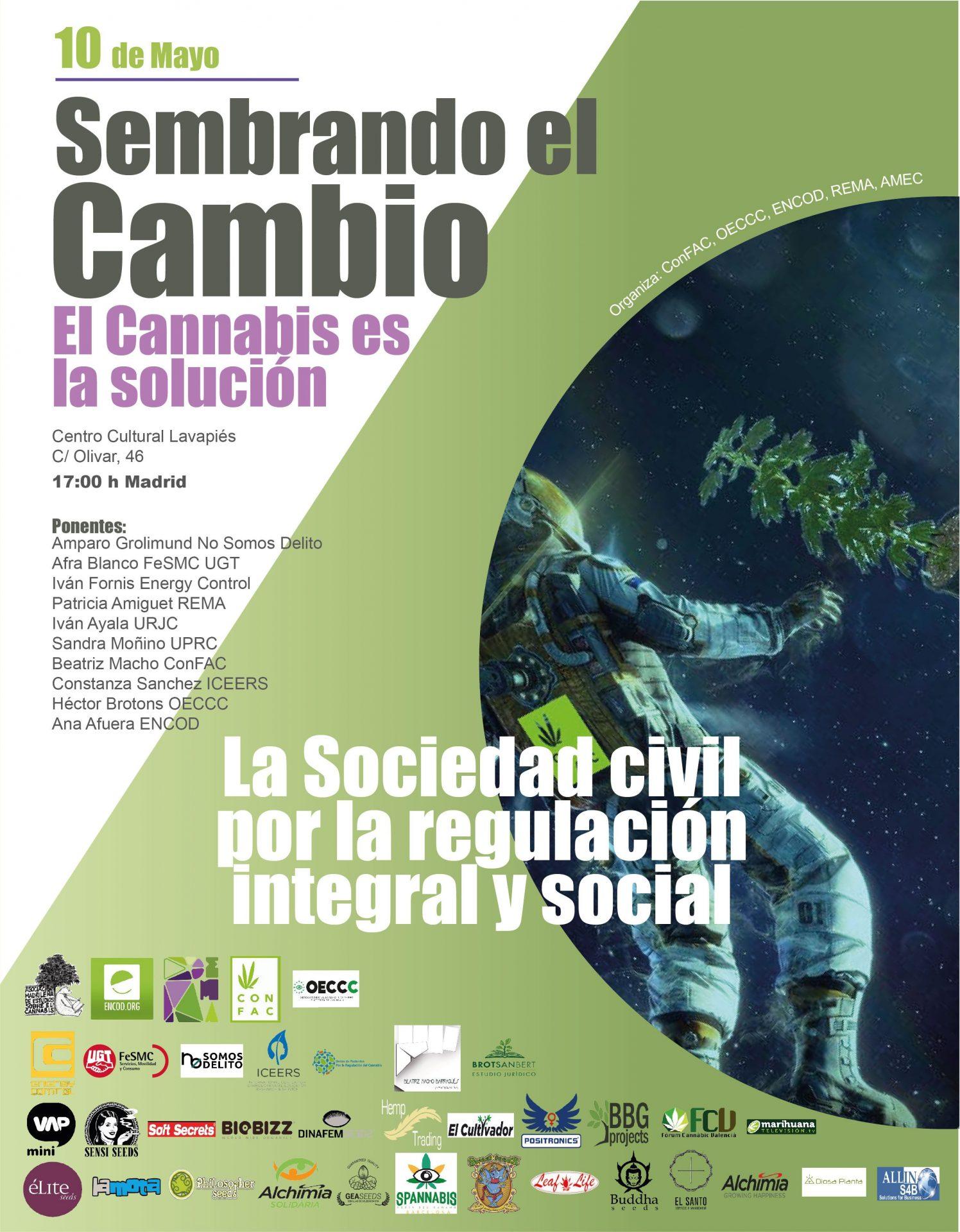 Mesa debate, Sembrando el Cambio,  El Cannabis es la solución. La Sociedad Civil por la regulación integral y social. 10