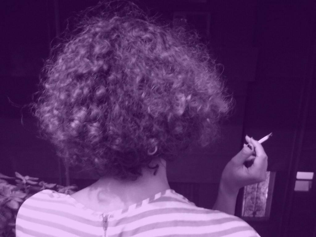 Heba mujeres fumando en El Cairo