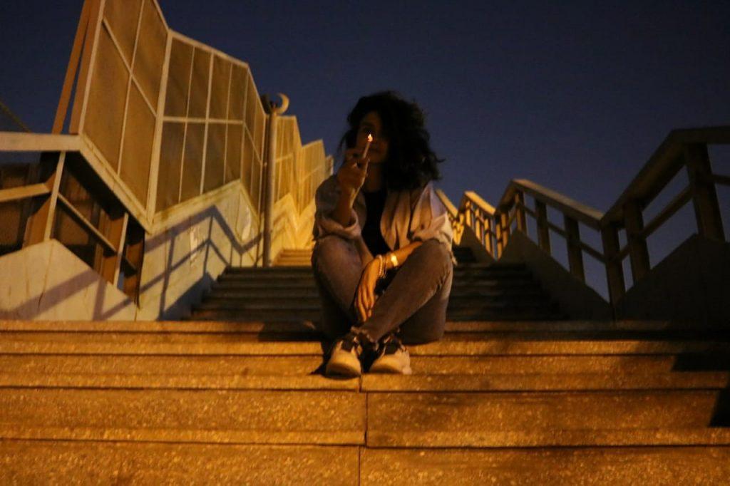 Souad mujeres fumando cannabis El Maadi Egipto